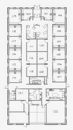 Salon Deluxe LLC > Floor Plan
